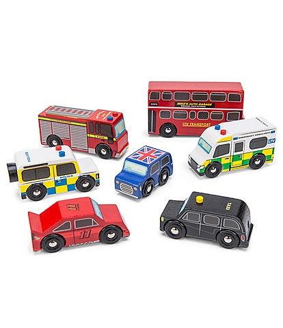 Le Toy Van Cars & Construction London Car Set