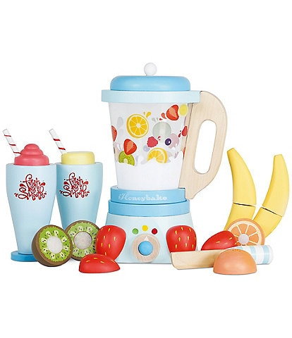 Le Toy Van Honeybake Blender & Wooden Fruit Set
