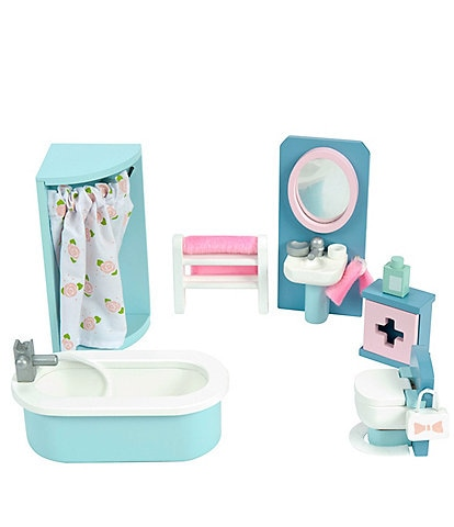 Le Toy Van Honeybake Daisy Lane Bathroom Furniture Set