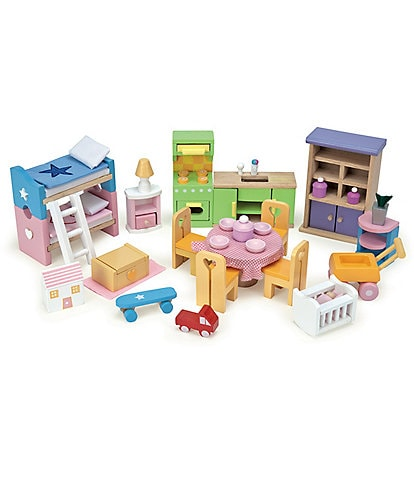 Le Toy Van Honeybake Furniture Set for Doll Houses