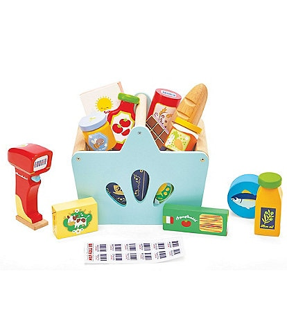 Le Toy Van Honeybake Grocery Basket Set & Scanner