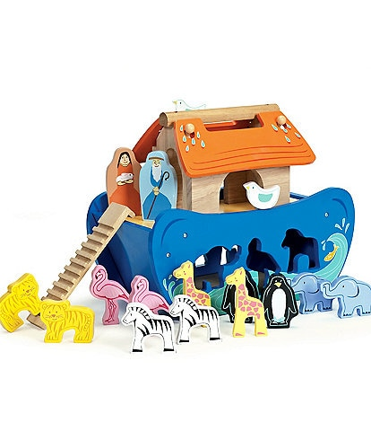 Le Toy Van Honeybake Noah's Shape Sorter