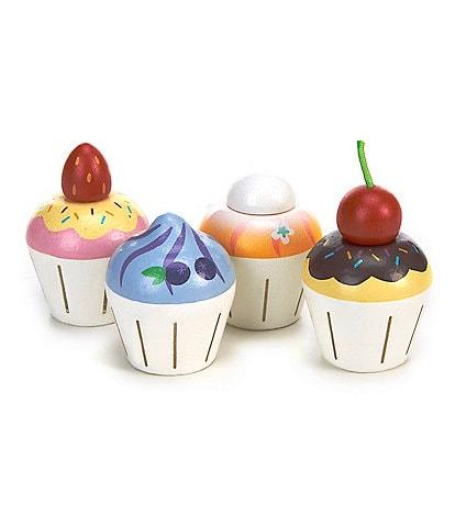 Le Toy Van Honeybake Petit Wooden Cupcakes