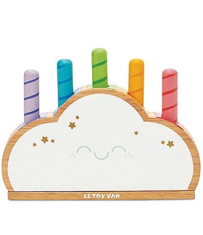 Le Toy Van Rainbow Cloud Pop Toy