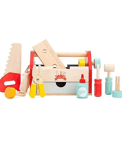 Le Toy Van Honeybake Toy Wooden Tool Box