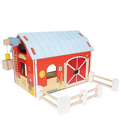 Le Toy Van Honeybake Traditional Wooden Barn