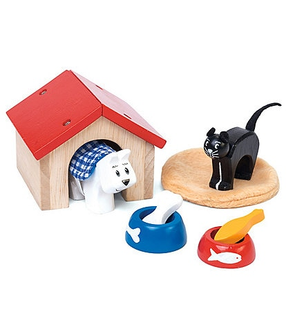 Le Toy Van Honeybake Wooden Pet Set for Doll House