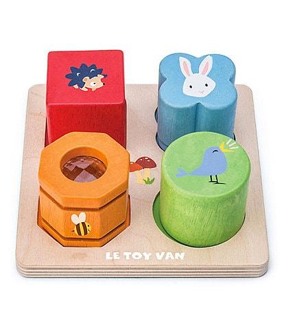 Le Toy Van Petilou 4-Piece Sensory Tray Toy Set