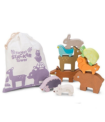 Le Toy Van Honeybake Petilou Forest Stacker Tower & Bag