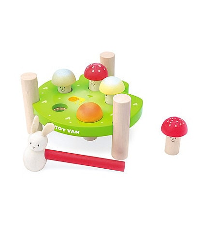 Le Toy Van Petilou Hammer Game #double;Mr. Mushrooms#double;
