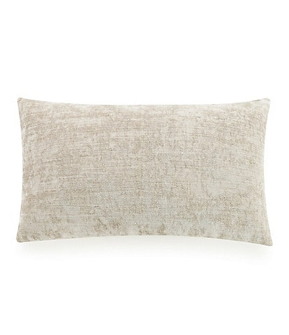LEMIEUX ET CIE Velvet & Linen Reversible Breakfast Pillow