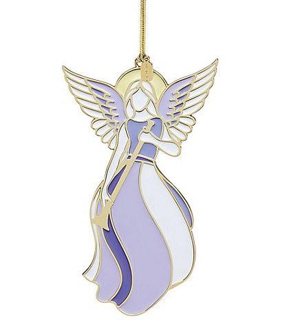 Lenox 2019 Heavenly Angel Enamel Ornament