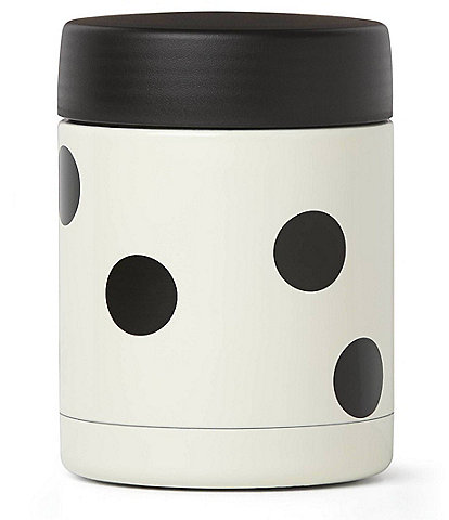 kate spade new york All in Good Taste Deco Dot Double-Wall Insulated Food Container