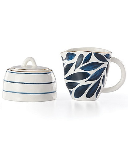 Lenox Blue Bay 2-piece Creamer & Sugar Bowl Set