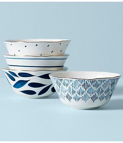 Lenox Blue Bay All-Purpose Bowls, Set of 4