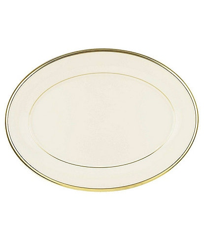 Lenox Eternal Ivory 13#double; Oval Platter