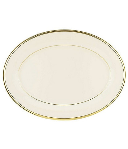 Lenox Eternal Ivory 16#double; Oval Platter