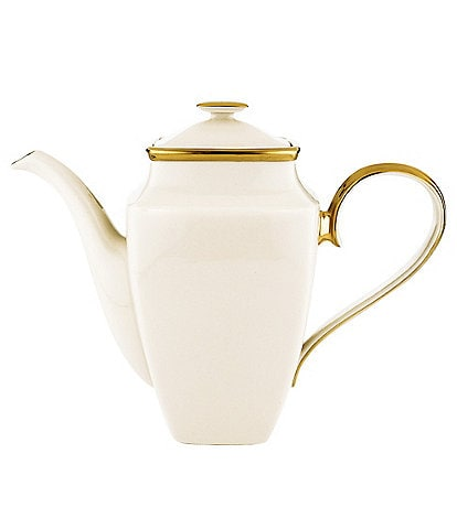 Lenox Eternal Ivory Square Coffee Pot