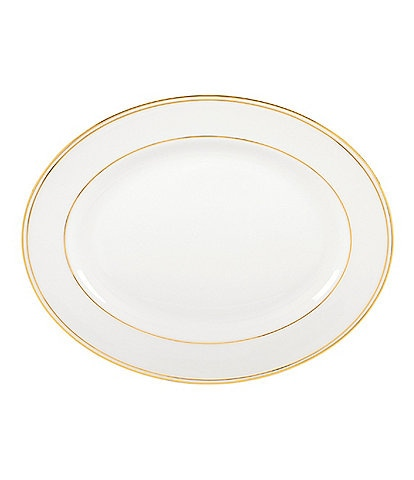 Lenox Federal Gold Bone China Oval Platter