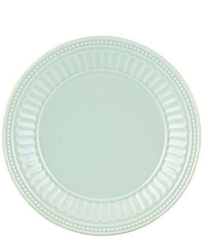 Lenox French Perle Groove Stoneware Dessert Plate