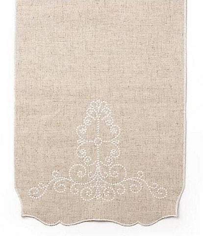 Lenox French Perle Scroll Table Runner