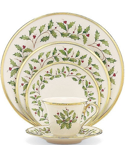Lenox Holiday 5-Piece Place Setting Dinnerware Set