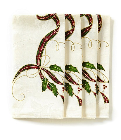 Lenox 4-Piece Holiday Nouveau Napkin Set