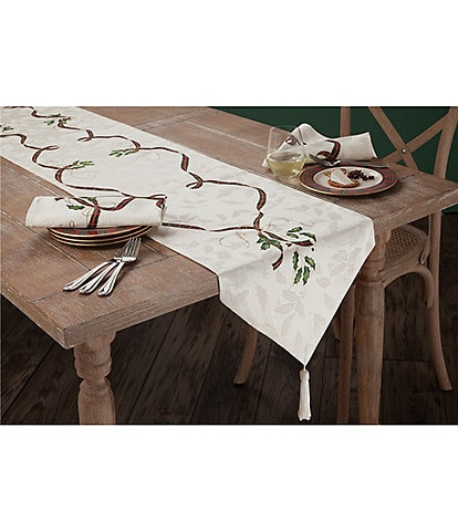 Lenox Holiday Nouveau Table Runner