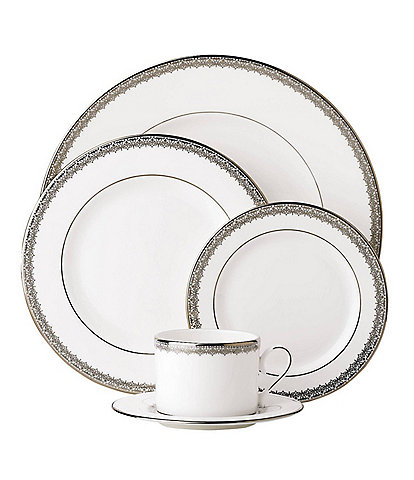 Lenox Lace Couture Platinum 5-Piece Place Setting