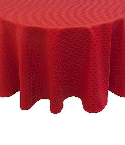 Lenox Olivia Red Collection Tablecloths