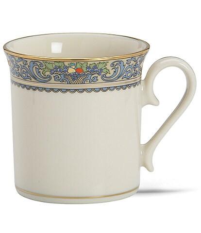Lenox Presidential Autumn Floral & Fruit Basket Mug