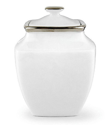 Lenox Solitaire® Square Sugar Bowl with Lid