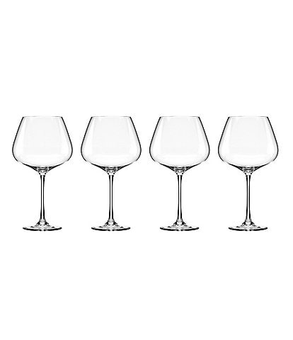 Lenox Tuscany 4-Piece Burgundy Wine Glass Set