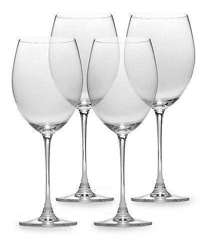 Lenox Tuscany Classics 4-Piece Crystal Grand Bordeaux Glass Set
