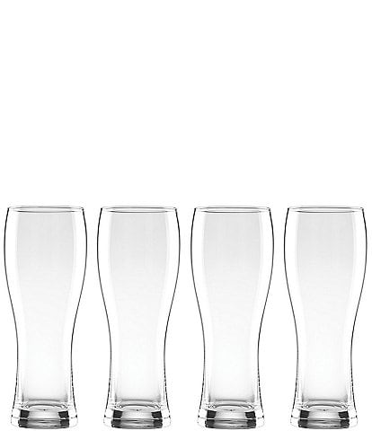 Lenox Tuscany Classics 4-Piece Crystal Wheat Beer Glass Set