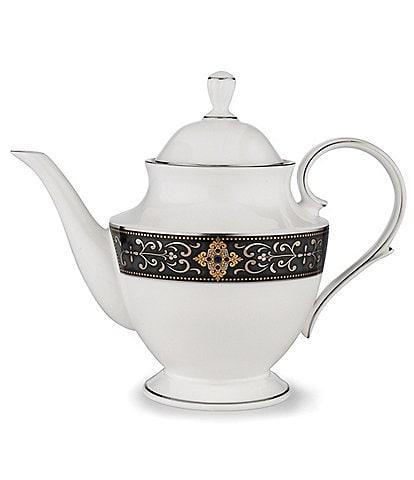 Lenox Vintage Jewel Bone China Teapot