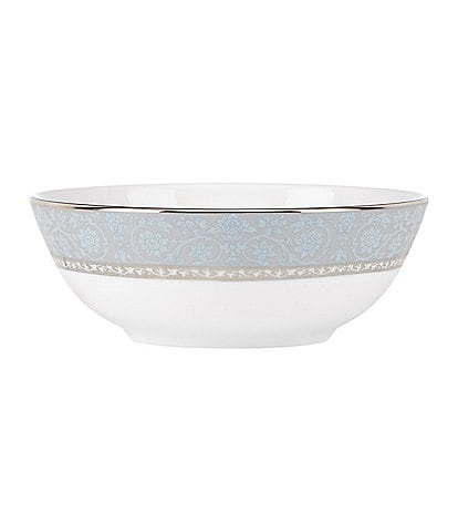 Lenox Westmore Floral Platinum Bone China Bowl