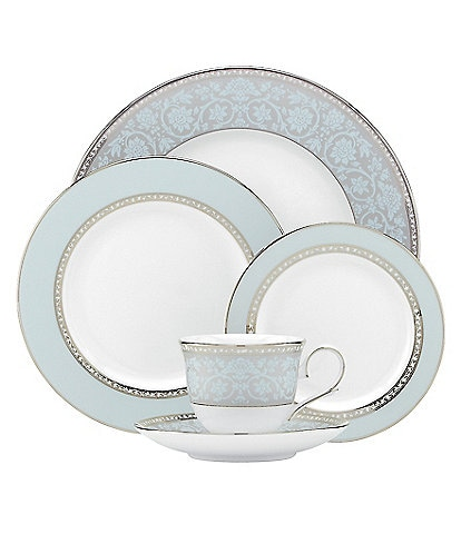 Lenox Westmore Floral Platinum Bone China