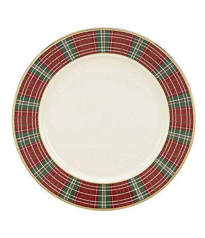 Lenox Winter Garden Plaid Bread & Butter Plate