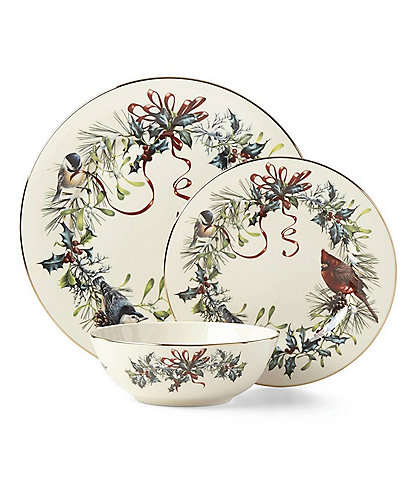 Lenox Winter Greetings 3-Piece Place Setting