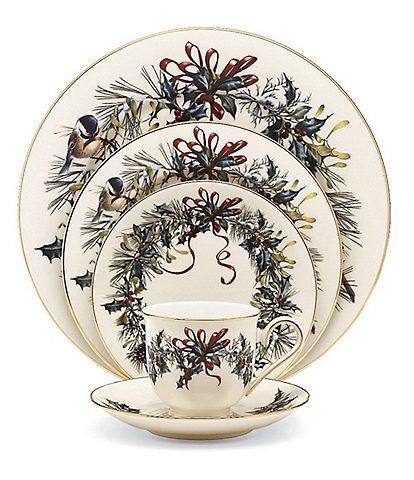 Lenox Winter Greetings 5-Piece Place Setting