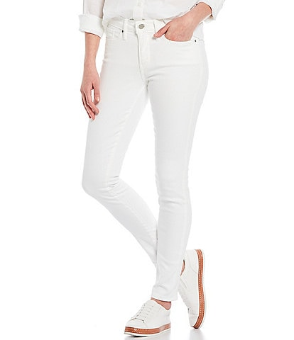 Levi's 311 Shaping Mid Rise Ankle Straight Hem Skinny Jeans