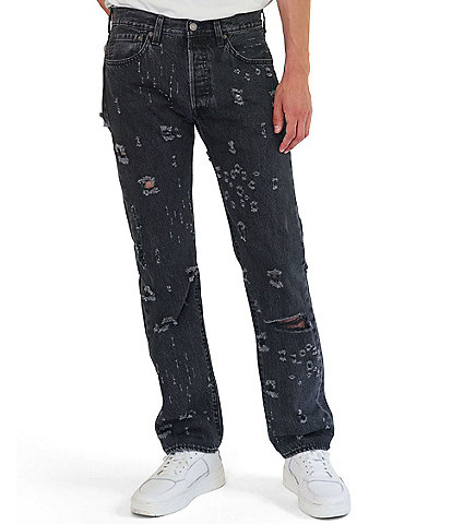 Levi's® 501® Original Fit Damaged Jeans