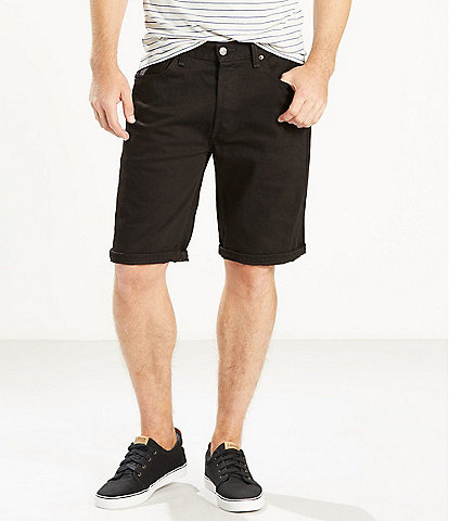 Levi's® 501 Original-Fit Stretch 11#double; Inseam Jean Shorts