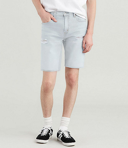 Levi's® 502 Regular 12#double; Inseam Tapered Rolled Colorblocked Jean Shorts
