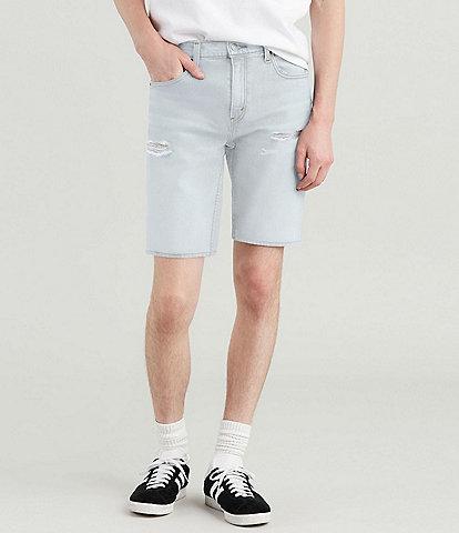 Levi's® 502 Regular 12#double; Inseam Distressed Jean Shorts