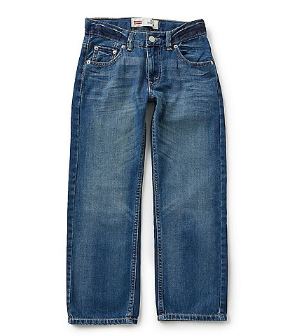 Levi's® 505 Big Boys 8-20 Straight-Fit Jeans