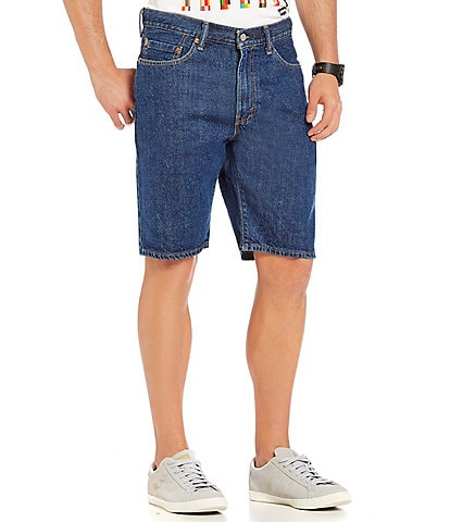 Levi's® 505 Regular Fit 10#double; Inseam Denim Jean Shorts