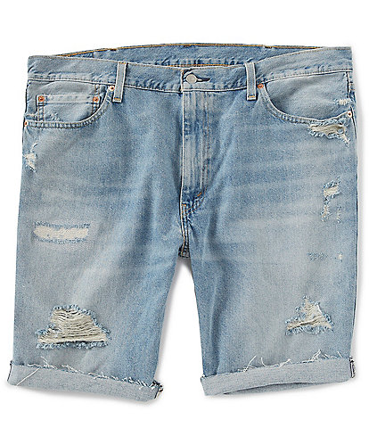 Levi's® 511 Slim Fit 12#double; Inseam Cut Off Jean Shorts