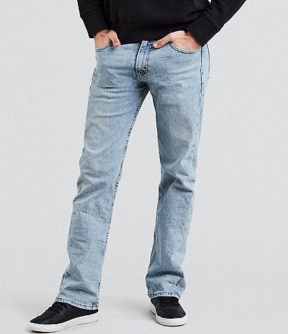 Levi's® 527 Blue Stone Wash Slim Bootcut Jeans